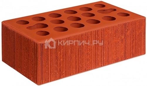 Кирпич для фасада красный полуторный бархат М-150 Керма
