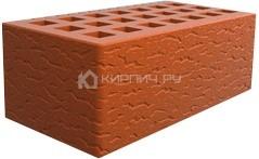 Кирпич для фасада красный полуторный кора дуба М-150 Саранск