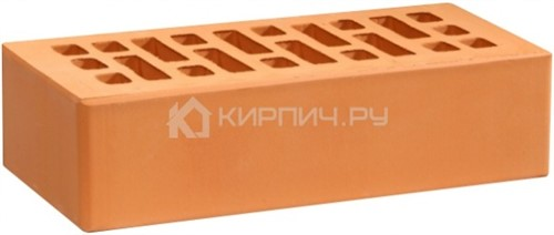 Кирпич для фасада персик одинарный гладкий М-175 УС Воротынск