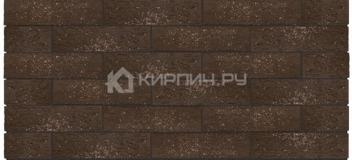 Кирпич для фасада Premium Brown granite одинарный кора дуба орех М-175 Керма