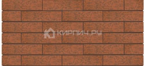 Кирпич одинарный Premium Russet wood кора дуба амфиболит М-175 Керма в