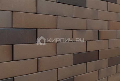 Кирпич для фасада Рочестер одинарный гладкий М-150 КС-Керамик