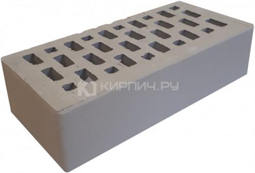 Кирпич Терекс серый одинарный гладкий М-150