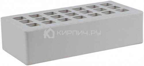 Кирпич для фасада серый одинарный пена М-175 ЖКЗ