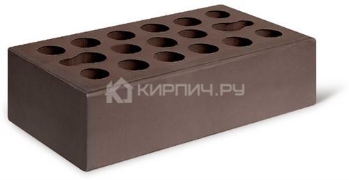 Кирпич одинарный шоколад гладкий М-150 Керма