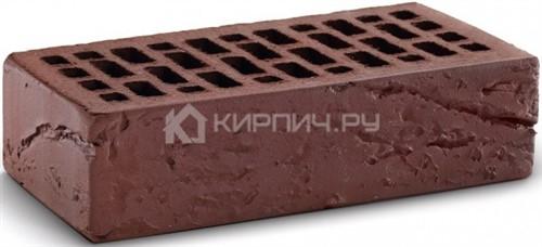 Кирпич для фасада шоколад одинарный кора дерева М-150 КС-Керамик в