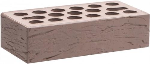 Кирпич одинарный шоколад рустик М-150 Керма в
