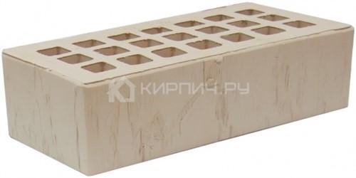 Кирпич для фасада слоновая кость одинарный скала М-175 ЖКЗ в