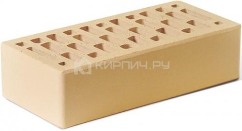 Кирпич для фасада солома одинарный гладкий М-150 Ростов