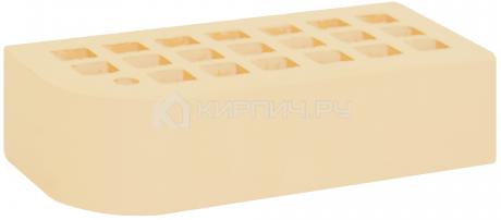 Кирпич для фасада солома одинарный КФ-2 гладкий М-175 ЖКЗ в