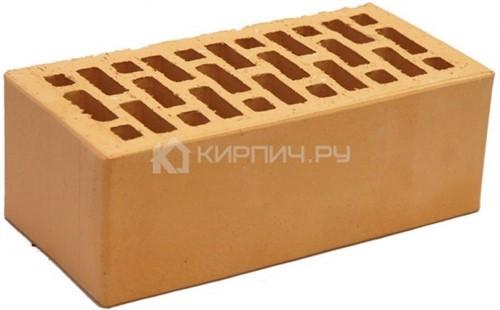 Кирпич НЗКМ солома полуторный гладкий М-150
