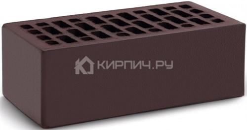 Кирпич темный шоколад полуторный гладкий М-150 КС-Керамик