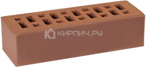 Кирпич одинарный темно-коричневый гладкий М-175 ГКЗ