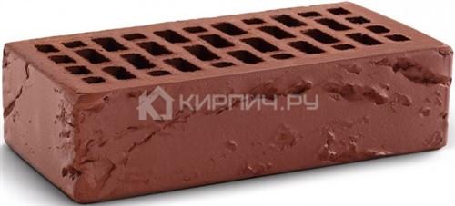 Кирпич  М-150 терракот одинарный кора дерева КС-Керамик в
