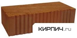 Кирпич строительный полнотелый одинарный М-125 рифленый Ржевкирпич в