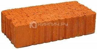 Кирпич строительный полнотелый одинарный М-125 рифленый Сафоновский