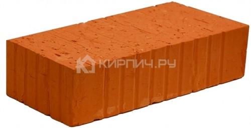 Кирпич керамический полнотелый одинарный М-150 рифленый Боголюбовский в