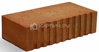 Кирпич строительный полнотелый одинарный М-150 рифленый Фокино в