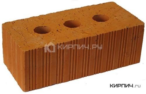 Кирпич керамический полнотелый полуторный М-150 рифленый Ломинцево в