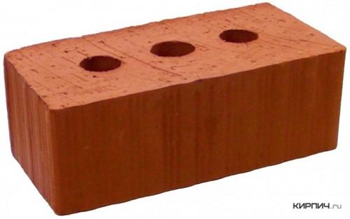 Кирпич строительный полнотелый с тех.пустотами полуторный М-150 рифленый Рузаевка в
