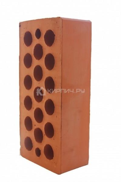 Кирпич строительный щелевой одинарный М-150 гладкий Каширский кирпич