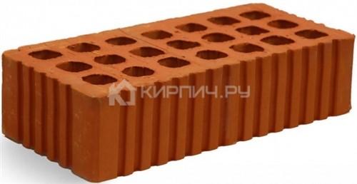 Кирпич строительный щелевой одинарный М-150 рифленый Михневская керамика в