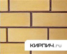 Силикатный кирпич желтый полуторный КЗСК