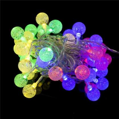 Гирлянда Шарики 40 LED ламп для помещения в