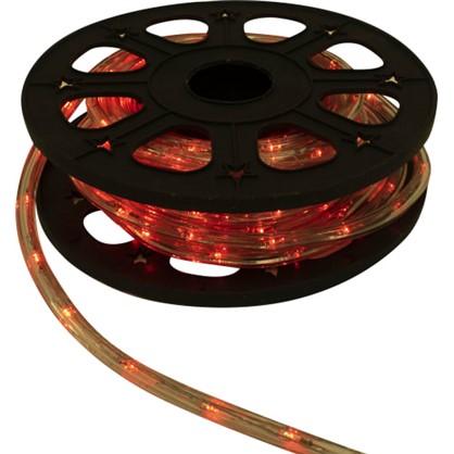 Гирлянда для улицы дюралайт красный 8 м 24 лампы в