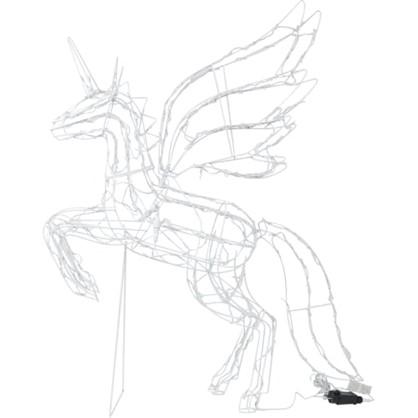 Гирлянда-фигура Единорог 200 светодиодов в