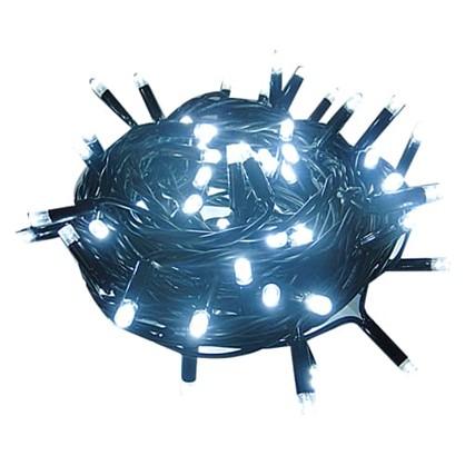 Гирлянда-шнур соединяемая 100 ламп без блока питания для улицы в