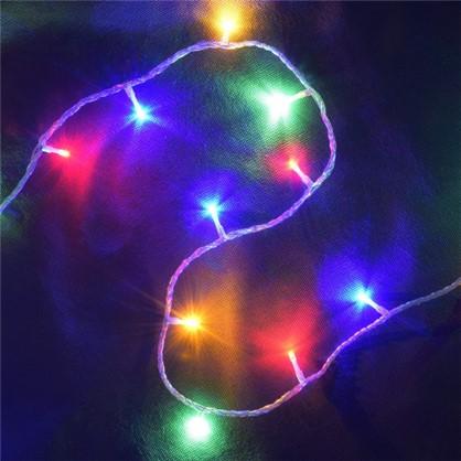 Светодиодная гирлянда Бахрома для улицы 72 лампы 3 м цвет мультиколор в