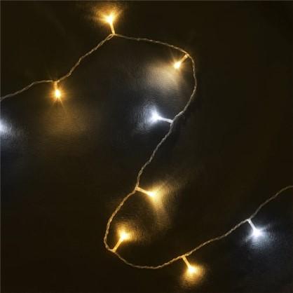 Светодиодная гирлянда Balance Бахрома для улицы 72 лампы 3 м цвет тёплый белый в