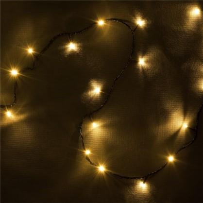 Светодиодная гирлянда Balance Нить для дома 300 ламп 23 м цвет тёплый белый в