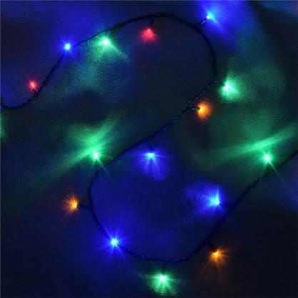Светодиодная гирлянда Balance Нить для дома 50 ламп 5 м цвет мультиколор в