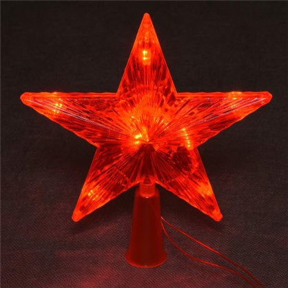 Светодиодная гирлянда Balance Звезда для дома 10 ламп 3.5 м цвет красный в