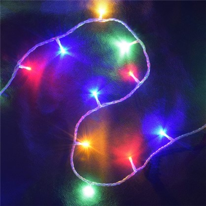 Светодиодная гирлянда Нить для улицы 48 ламп 5 м цвет мультиколор в