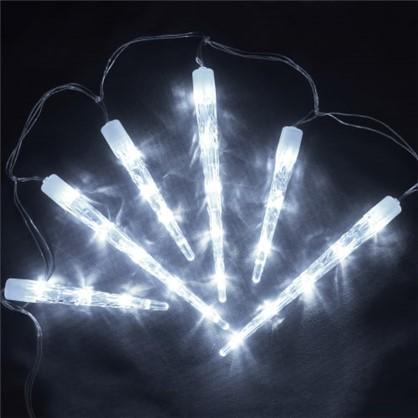 Светодиодная гирлянда Сосульки для улицы 40 ламп 2 м цвет холодный белый в