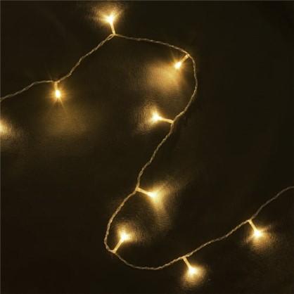 Светодиодная гирлянда Занавес для улицы 96 ламп 1.2 м цвет тёплый белый в