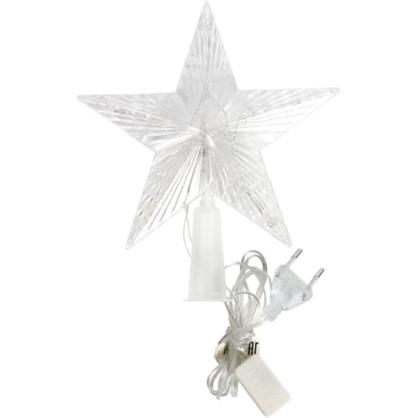 Светодиодная гирлянда Звезда на ёлку для дома 10 ламп 17 см в