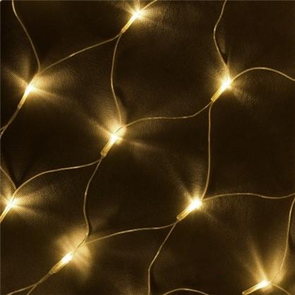 Светодиодная гирлянда для улицы 144 лампы 1.2 м цвет тёплый белый в