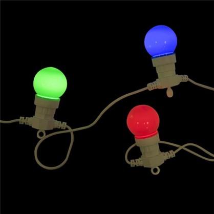 Светодиодная гирлянда для улицы 6 ламп в