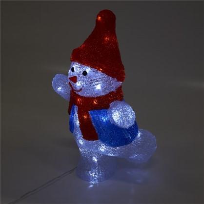 Фигура светодиодная Uniel Снеговик-2 в