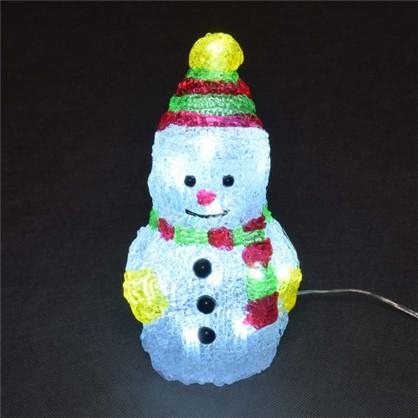 Фигурка Balance Снеговик 10 см цвет белый в