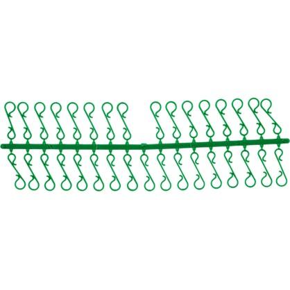 Крючки Декоративные Пластик Цвет Зеленый 33 Шт. в