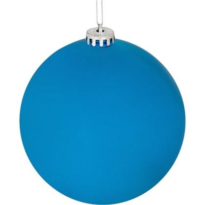 Шар Елочный 6 См Пластик Цвет Голубой в