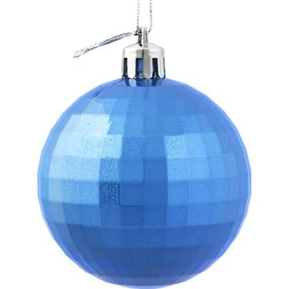 Шар Елочный Диско 6 См Пластик Цвет Синий в