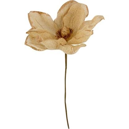 Украшение Цветок Из Джута 24 См в