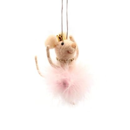 Украшение Новогоднее Мышка-Балерина 12 См в