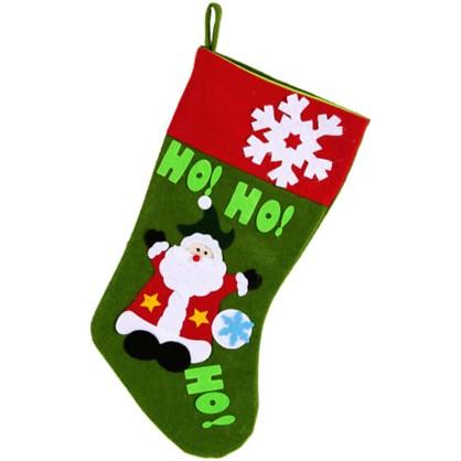 Украшение Новогоднее Носок С Дедом Морозом в